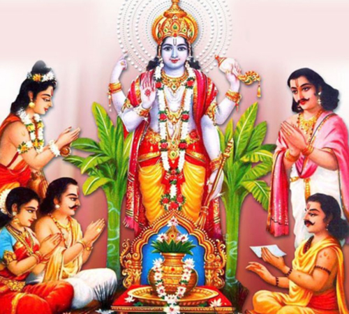 Satyanarayan-Puja